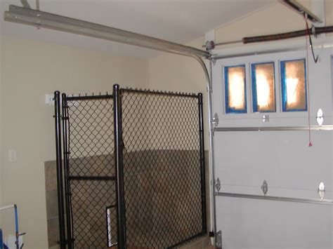 dog kennel in garage ponds sons