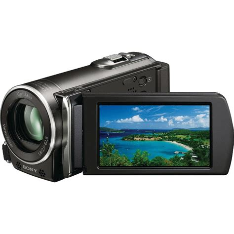 Sony Hdr used sony hdr cx110 hd handycam camcorder black hdr cx110br