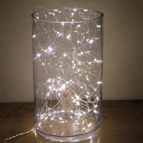 Lights In A Vase by Wire Lights 5 10 15 Or 20 Meter Greige