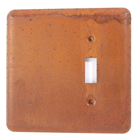 soft click light switch primitive rusty tin light switch plate cover primitive