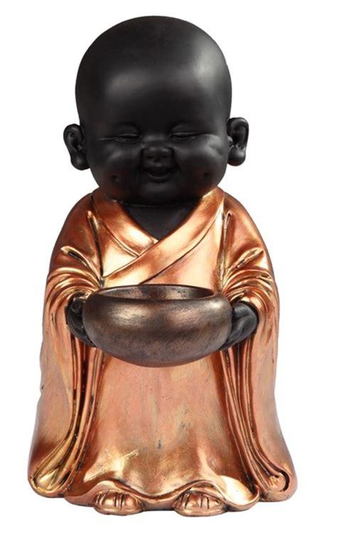 standing buddhist monk  goldenblack gsc imports