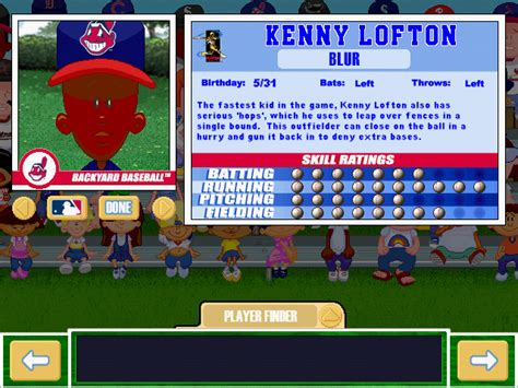 kenny backyard baseball calcaterra kenny lofton and carlos baerga will handle first pitch duties in game 1