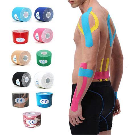 Kinesio Tap 5 Warna 11 color kinesio bandage 5cm x 5m sports kinesiology roll cotton elastic