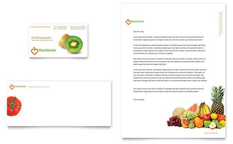 diet card template diet nutrition templates word publisher powerpoint