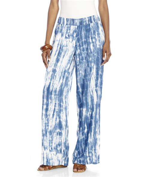 lunch lounge norma tie dye in white lyst