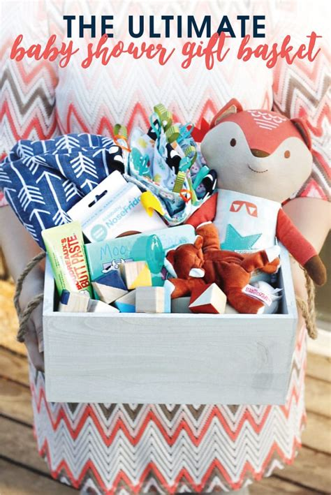 Things To Make For Baby Shower Gift by The Ultimate Baby Shower Gift Basket
