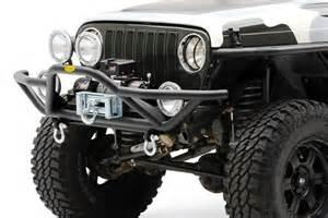 smittybilt 174 76721 jeep wrangler 1987 1995 src front bumper