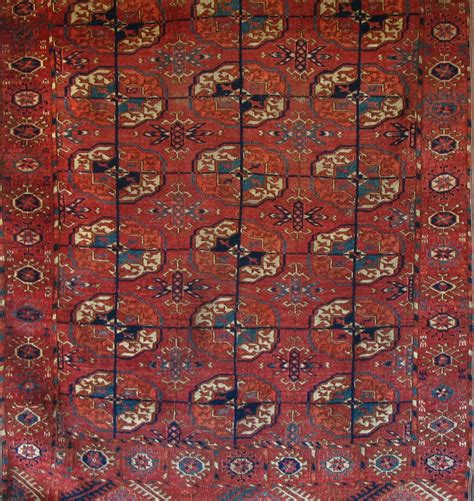 tekke rug tekke turkmen small carpet 19th century