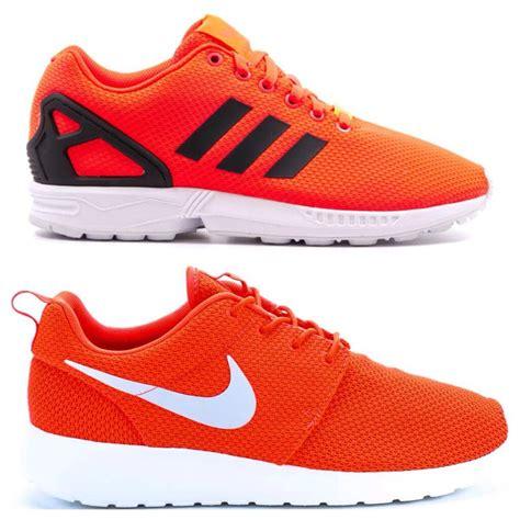 running shoes nike vs adidas nike roshe adidas fila