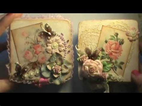 shabby chic altered wooden trinket boxes   nieces