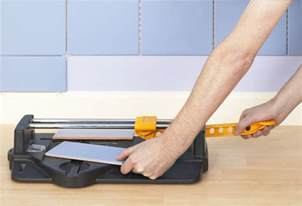 How To Cut Floor Tile how to cut ceramic tile with a snap cutter