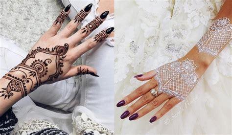 27 magnifiques tatouages au henn 233 so busy girls