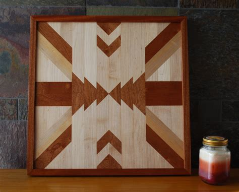 wooden designs native american geometric design wood wall art navajo tribal