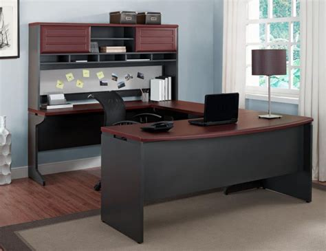 u shaped computer desk furniture for home office