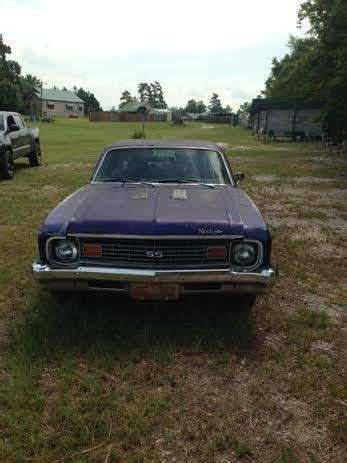 sell used 1973 nova ss big block in sylvania, georgia