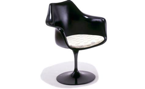 saarinen black tulip arm chair hivemoderncom