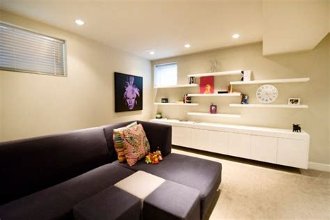 living room shelves decorating ideas simple functional and space saving floating wall shelving ideas