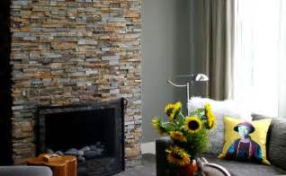 stacked veneer fireplace stack