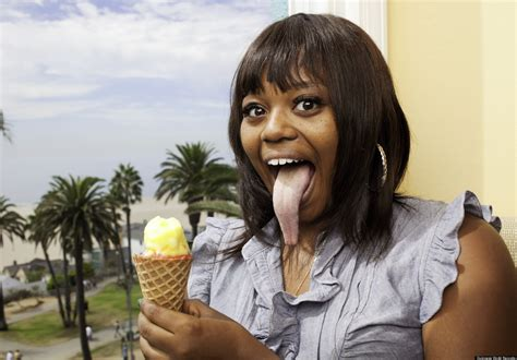 meet the girl with the longest tongue in the world video officially amazing pictures of new guinness world records
