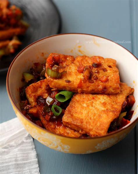 Sechuan Soya Bean Curd home style tofu tofu stir fry recipe china sichuan food