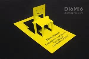 unique furniture design business cards diomioprint