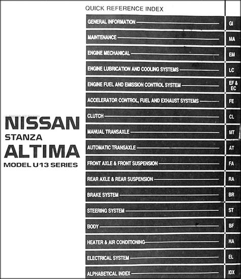 free download parts manuals 1994 nissan altima windshield wipe control 1994 nissan altima repair manual