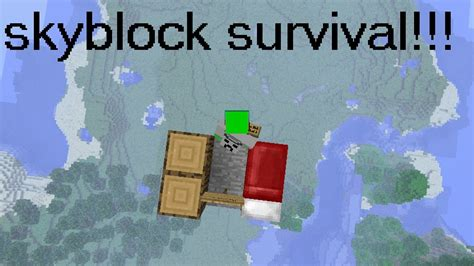 skyblock 2 0 challenges skyblock survival challenge minecraft project