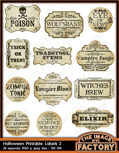 printable apothecary labels 43 best halloween labels images on pinterest halloween
