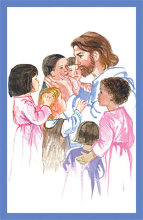 bulletins jesus with children bulletin