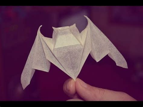 Luck Origami - 3 luck bat by michael lafosse yakomoga origami tutorial