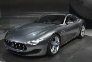 Maserati Pic Maserati Shows Alfieri Concept In Detroit Announces 2014