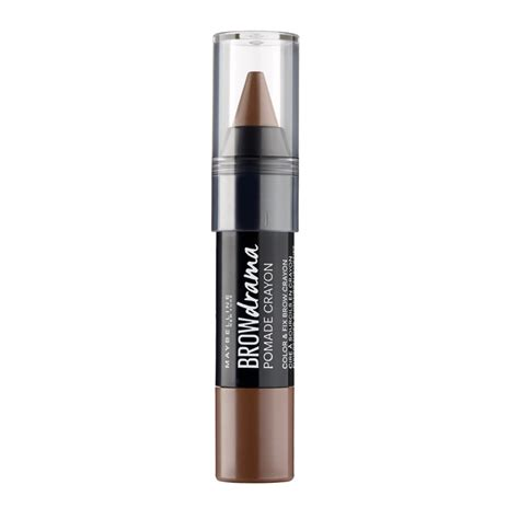 Maybelline Eyebrow Crayon maybelline brow drama pomade crayon brown 1 pcs 163 5 95