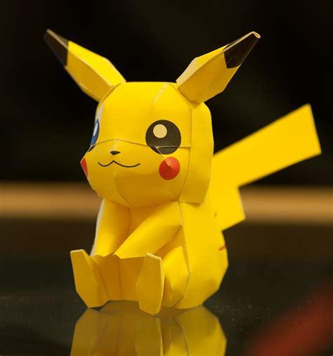 Papercraft Pikachu - pikachu papercraft model crafts pikachu