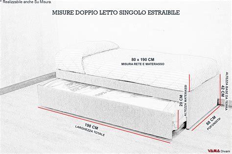 dimensione letto dimensione letto singolo larghezza letto singolo misure