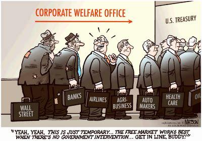 corporate welfare vs social welfare mark martinez blog corporate welfare vs social welfare
