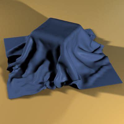 draped cloth 3d draped cloth model