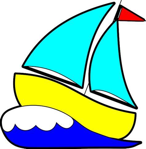 cartoon with boat in space กราฟฟ กเวคเตอร ฟร เร อใบ แล นเร อใบ คล น มหาสม ทร