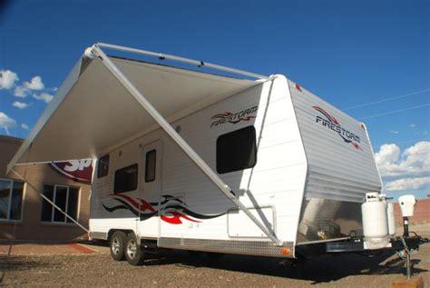 toy hauler awning 2012 solares trailers used inventory dunesport com toy