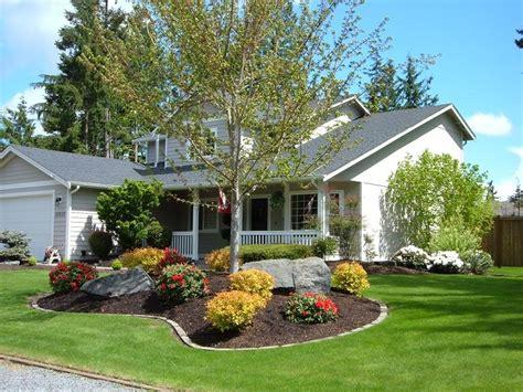 landscaping ideas front yard mobile home garden design