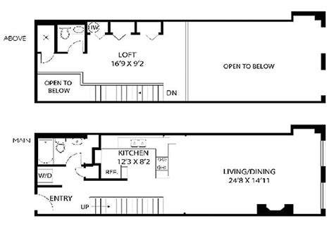 warehouse loft floor plans warehouse homes floor plans home design and style
