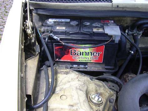 Was F R Eine Batterie Braucht Mein Auto by Ein W123 Als Wohnmobil