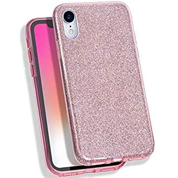 mateprox iphone xr glitter slim shiny sparkle bling cover