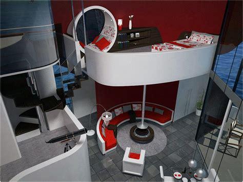interni casa di lusso casa di lusso galleggiante gioiello di design
