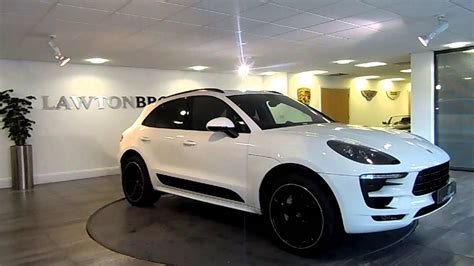 porsche macan white porsche macan s white black lawton brook youtube