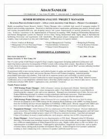 business management resume exle sle business resumes therapy trainer resume sales trainer