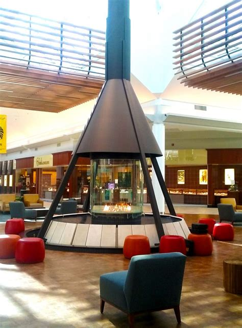 layout of chesterfield mall circular gas fireplace the circular4 indoor fireplace by