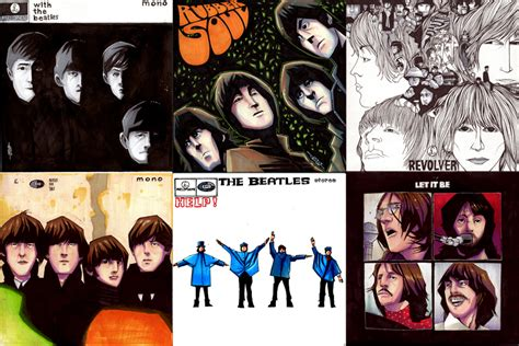 The Beatles 01 the beatles covers 01 by jeremytreece on deviantart