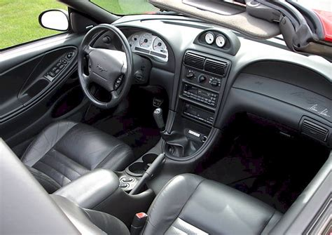 1999 mustang interior performance 1999 saleen s281 ford mustang convertible