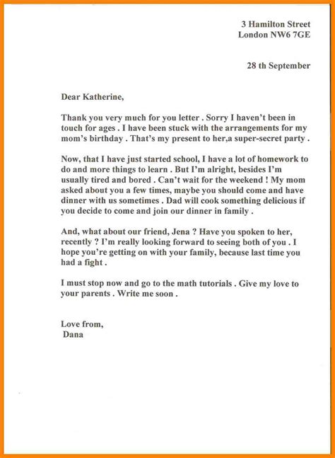 letter exle informal cover letter 4you
