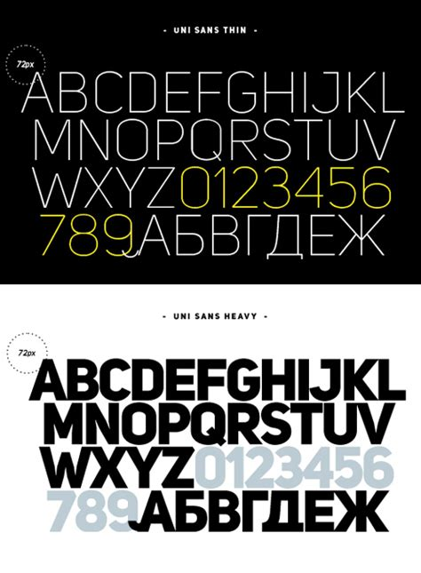 font uni sans most popular free fonts in 2014 fonts graphic design